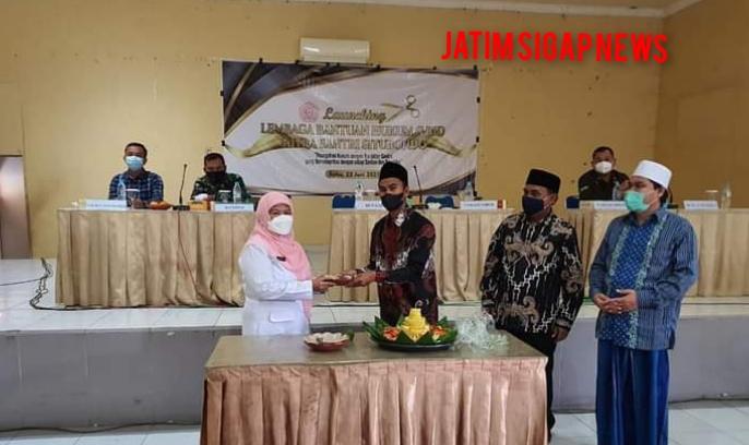 Launching LBH Mitra Santri Situbondo Dihadiri Wabub Situbondo dan Anggota DPRD  Jatim
