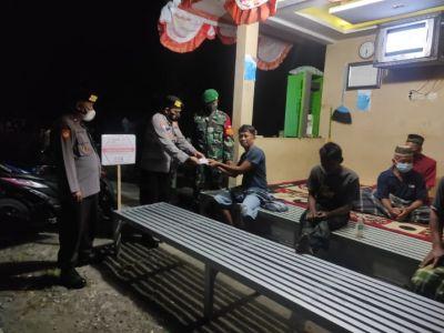 Babinsa Koramil 13/Nogosari: Mari Saling Peduli Ingatkan Kalau Tak Pakai Masker