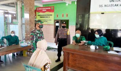 Danramil Dander Bojonegoro : Percepatan Vaksinasi Wujudkan Herd Immunity Masyarakat