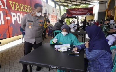 Dorong Vaksinasi Capai Kekebalan Komunal Lewat Vaksinasi Merdeka