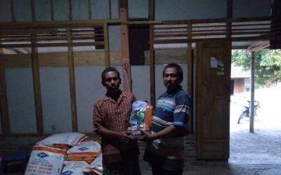 Gapoktan Sumber Barokah Desa Kali Sumber Bojonegoro Terima Bantuan Bibit Jagung Unggul
