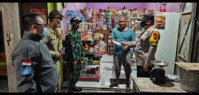 Himbauan Prokes malam hari, Petugas Gabungan Bendosari Fokuskan himbauan secara persuasif