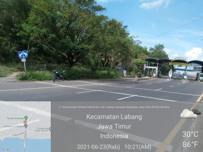 Gerbang Tol Suramadu Sisi Madura Sudah Tidak Ada Penyekatan dan Swab Antigen