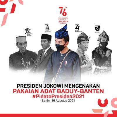 Kobarkan Semangat, Presiden Joko Widodo Ajak Indonesia Bersatu Hadapi Pandemi