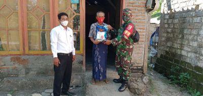 Kodim 0813 Bojonegoro Kembali Salurkan Bantuan Beras untuk Masyarakat Kurang Mampu
