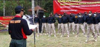 LDMH Bentuk Satgas Untuk Cegah Kegiatan Radikalisme di Hutan Panderman dan Butak