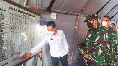 Pawas PPKM Kodam V/Brawijaya Kunjungi Tempat Isolasi Terpadu Kabupaten Bojonegoro