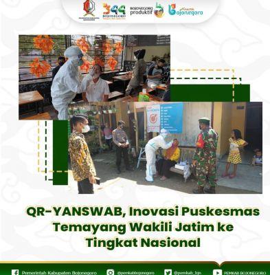 QR-YANSWAB, Inovasi Puskesmas Temayang Wakili Jatim ke Tingkat Nasional