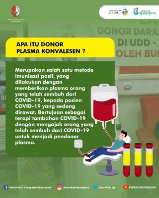 Sudah sembuh dari COVID-19, Ayok lurr, ikut Donor Darah Konvalesen!