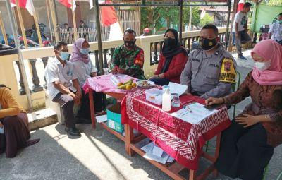 TNI Polri Diterjunkan Untuk Memperlancar Kegiatan Vaksinasi