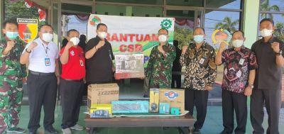 Wujudkan Sinergisitas, Koperasi Kareb Serahkan Bantuan Sarana Vidcon untuk Kodim Bojonegoro
